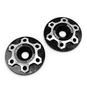 Universal Aluminum Wing Mount Washers Black (2)