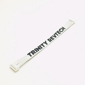 Ultra Flexi 100mm Flat Sensor Wire with Trinity Logo (White)