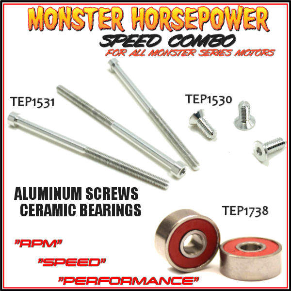 LImited Time! -  Monster Horsepower Speed Combo