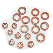 Certified Tekno EB410 / ET410 Series Red Seal Ceramic Ball Bearing Set (18)