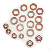 Certified Associated B64 Series Red Seal Ceramic Ball Bearing Set (18)