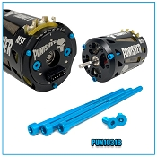 PUNISHER/DRAG MASTER MOTOR ALUMINUM BLUE SCREW SET