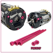 PUNISHER/DRAG MASTER MOTOR ALUMINUM PINK SCREW SET