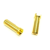5mm Gold Bullet Connectors (1 pair) Males