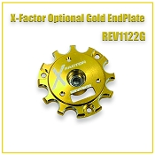 "X-FACTOR ""Gold"" ENDBELL WITH BALL BEARING"