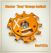 X-Factor Xray Orange Endbell