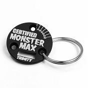 Trinity Monster Certified Sensor Cover Keychain