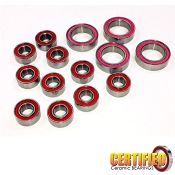 Xray T4 Touring Car Certified Red Seal Ceramic Bearing Set  (14)
