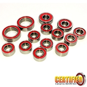 Team Losi TLR 22 4.0/5.0 Certified Red Seal Ceramic Bearing Set (14)