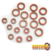 Tekno EB410 / ET410 Series Certified Red Seal Ceramic Bearing Set (18)