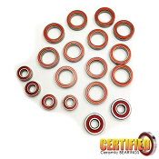 Team Associated B64 Series Certified Red Seal Ceramic Bearing Set (18)