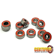5x10x4mm Certified Red Seal Ceramic Bearings (10)