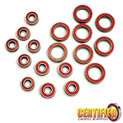 Team Associated B74 Certified Red Seal Ceramic Bearing Set (18)