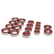 TLR 22X-4 Certified Red Seal Ceramic Ball Bearing Set (18)