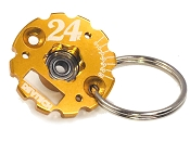 Trinity 24K Timing End Plate Key Chain