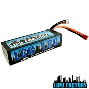 4S 14.8v 5200mah 55C LCG Pack with T-Plug (Deans Style)
