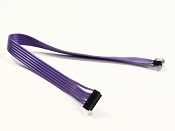 170mm Purple Ribbon Style Sensor Wire Super Flexible