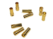 3.5mm Female Bullet connectors (9)