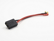 Micro Battery Lead 3.5mm Male Bullet to TX Plug (Traxxas Style) Female