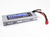 2S 7.4V 4500mah 50C Pack with T-Plug (Deans Style)