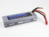 3S 11.1V 4500mah 50C Pack with T-Plug (Deans Style)