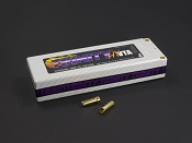 2S 7.4v 5000mah 100C High Voltage VTA Pack with 5mm Bullets