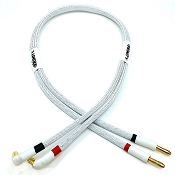 1S PRO Charge Cable with 5mm Battery Bullets (White)