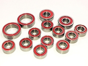 Certified TLR 22 4.0/5.0 Red Seal Ceramic Ball Bearing Set (14)