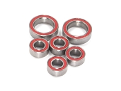 Certified B6 Series, B5M, 22 4.0/5.0, YZ2 Red Seal Ceramic Gearbox Ball Bearing Set (6)
