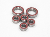 Certified Plus B6, B5M, 22 4.0 Ceramic Gearbox Ball Bearing Set (6)
