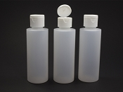 Empty 4oz. Traction Drip Cap Bottles (3)