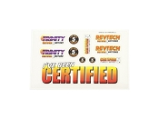 Trinity Revtech Certified Sticker Sheet 5