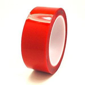"Mega Roll Double Sided Clear Tape .5mm x 1.5"" x 16'"