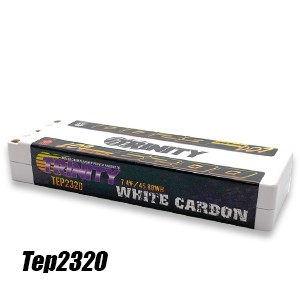 TEP2320  2S 7.4v LCG 6200mah 150c stick w/5mm Bullets