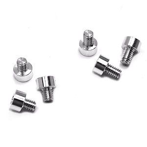 X-Factor (6pc) Aluminum Screw Kit (Silver)