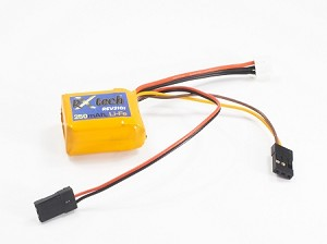 250mAh 6.6v 2S RXtech Li-Fe Receiver Pack with Switch