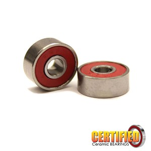 Certified Red Seal Ceramic Motor Bearings (2)