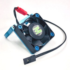 D8.5 Motor Cooling fan Mount with 40mm Fan (Blue)