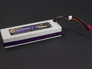 2S 7.4v 5200mah 50C HC Mudboss Pack with T-Plug (Deans Type)