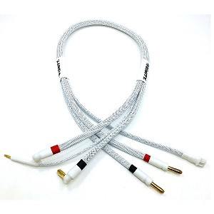 2S Pro Charge Cable with 5mm Bullet Connectors (White)